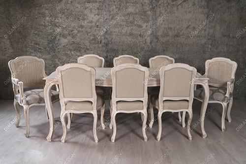 میز نهارخوری مدل چستر